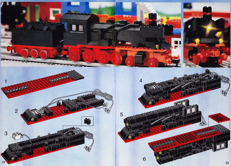 7777: The 1981 Trains Ideas Book | Brickset: LEGO set guide