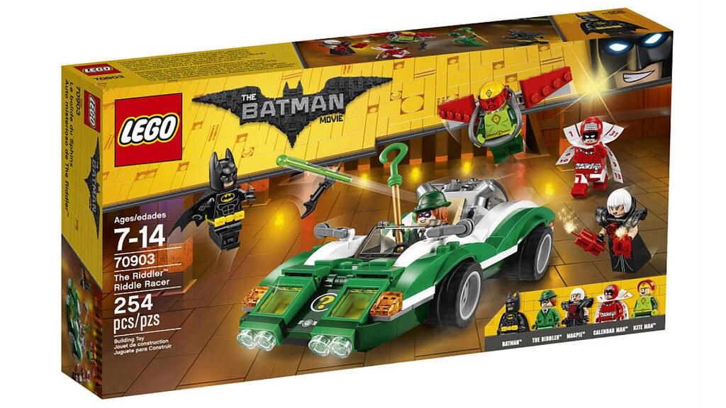 LEGO The Batman Movie 70903 - The Riddler Riddle Racer