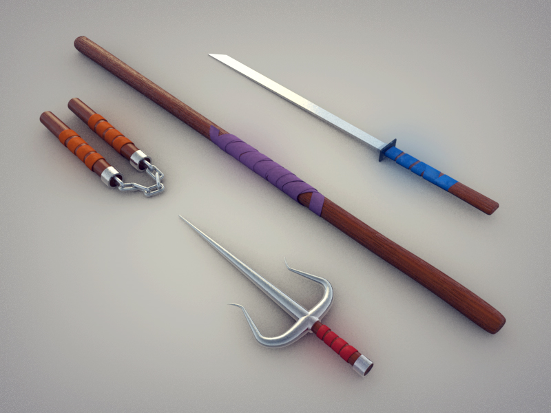 Image Gallery ninja turtle weapons