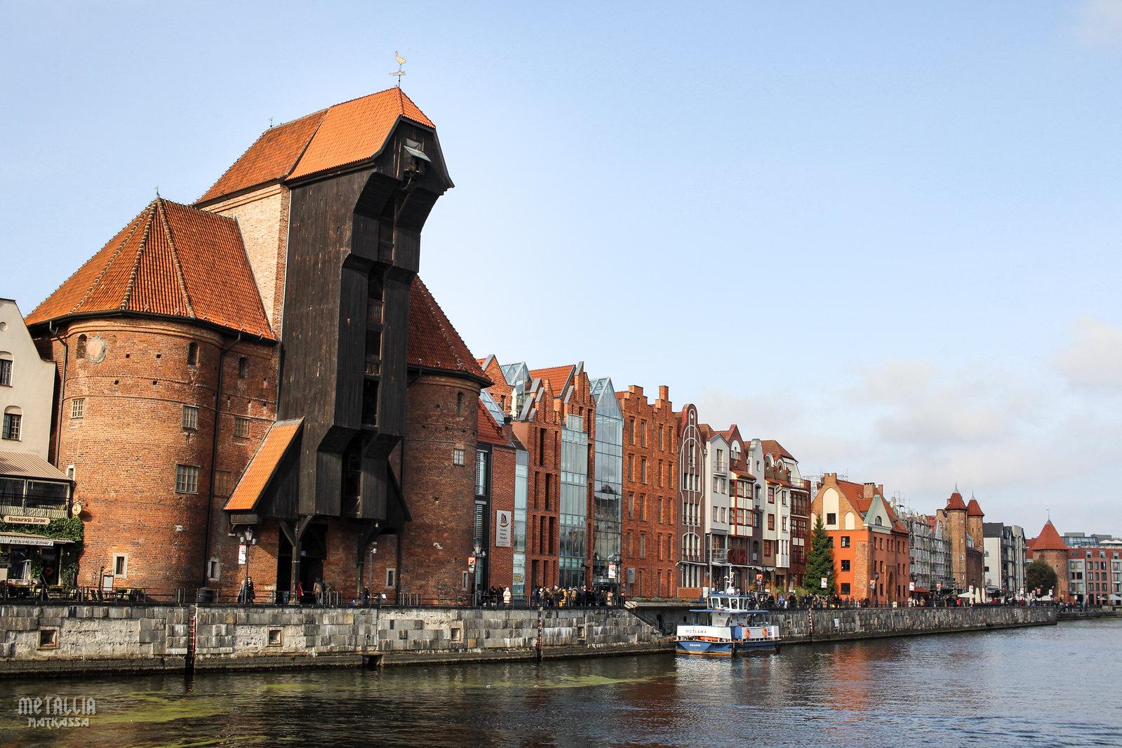 gdansk, gdanskin vanha kaupunki, gdansk old town, gdansk stare miasto, the crane