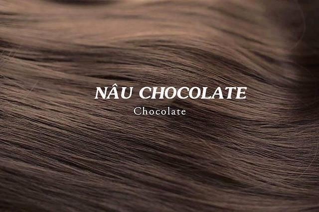 Mầu tóc nâu Chocolate