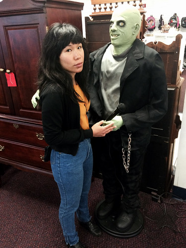 Ana's Prom Photo with Monster (Oct 2 2015)