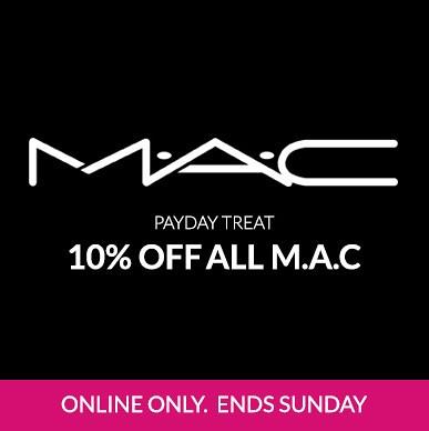Debenhams 10% Off MAC Makeup