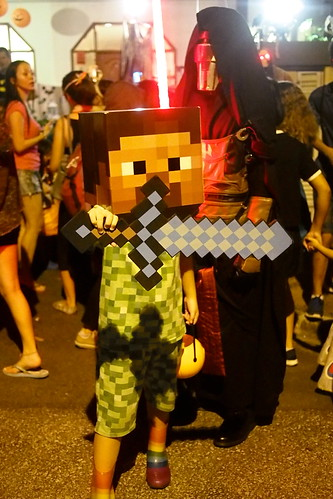 Minecraft. Halloween 2016 at Woodgrove, Woodlands, Singapore