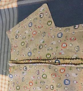 adding a lapped zipper to a dress shirt