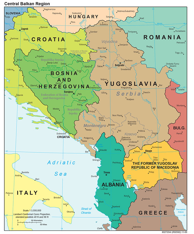 2000 Central Balkan Region