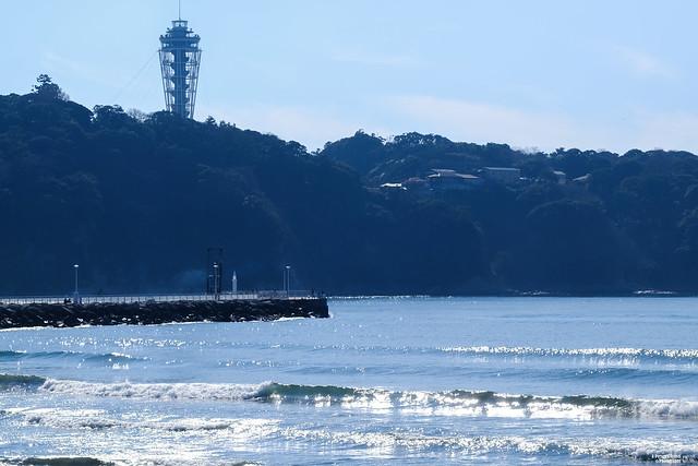 湘南海岸 江之島展望燈塔