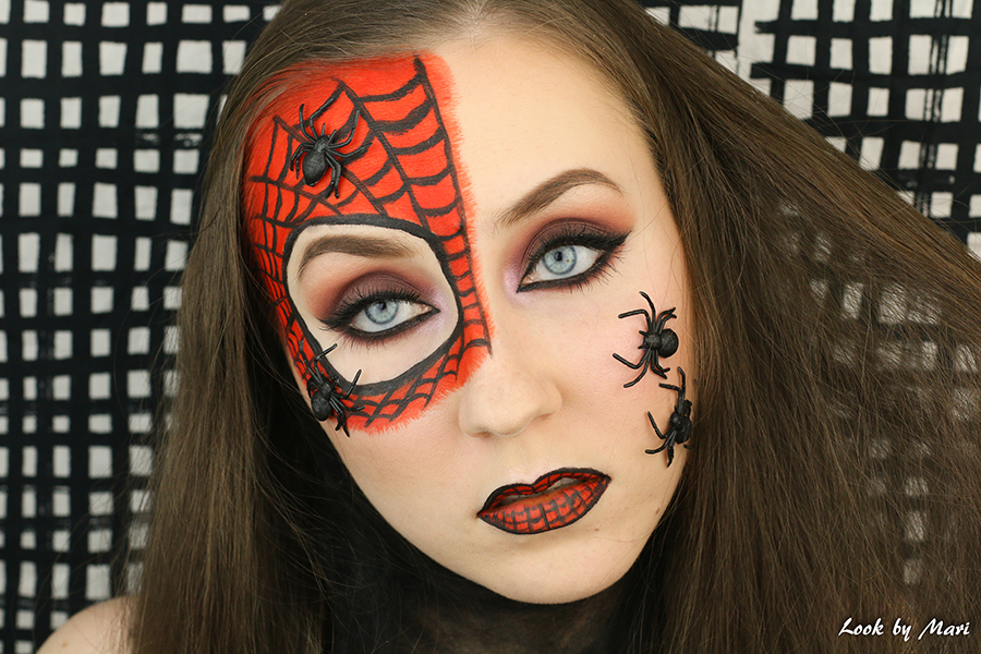 14 halloween makeup spiders colorful sexy creepy