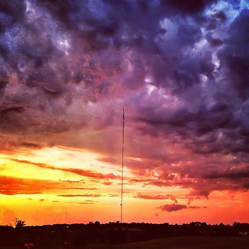 fiery glow burning sunset - photo #28