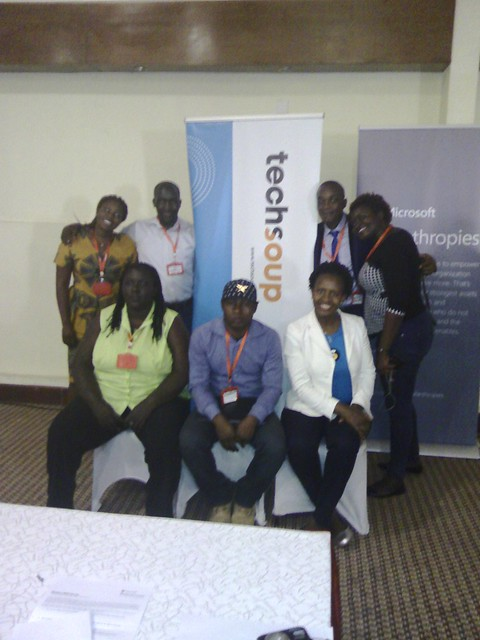 NetSquared Africa Ambassadors at TechSoup Africa Summit October 2016
