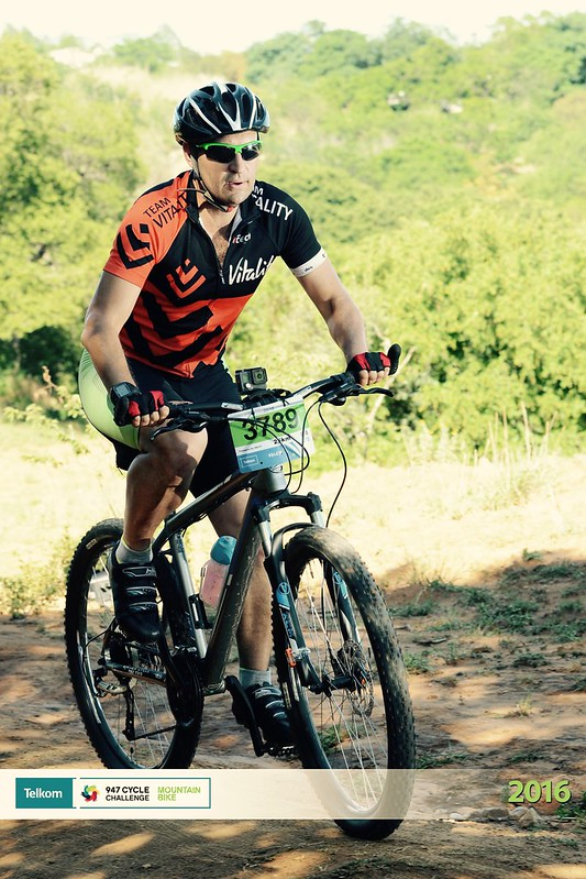 Telkom Mountain Bike Challenge 2016 - Posing for the camera