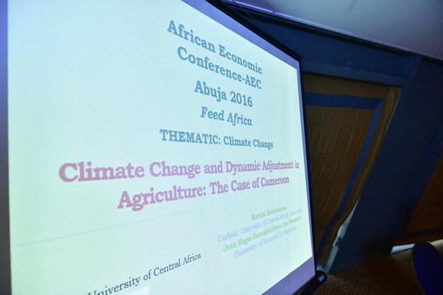 AEC 2016 : Concurrent Session 3.1: Climate change, 06 december 2016