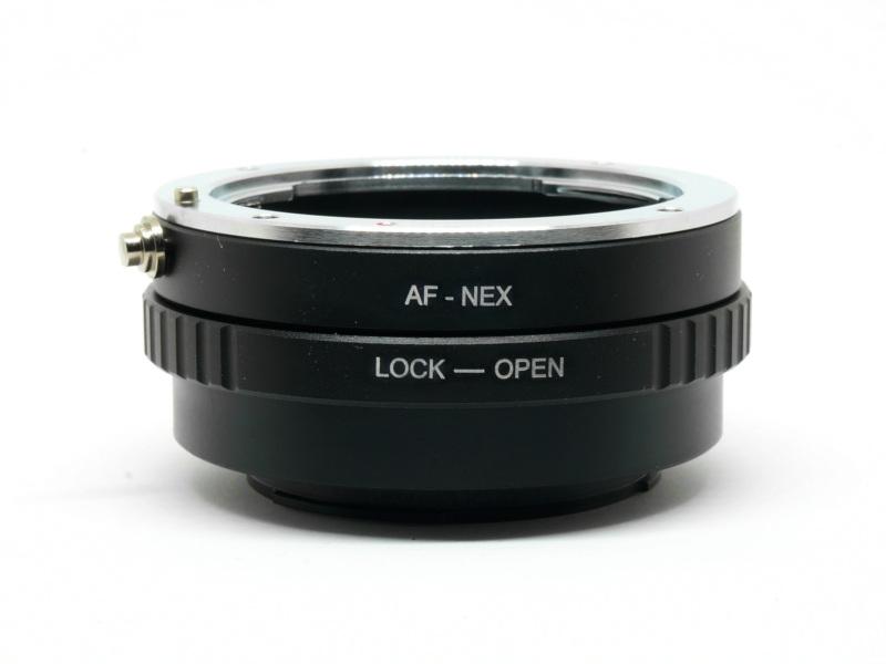 af-nex ma-nex lens adapter sony minolta a mount e ef camera