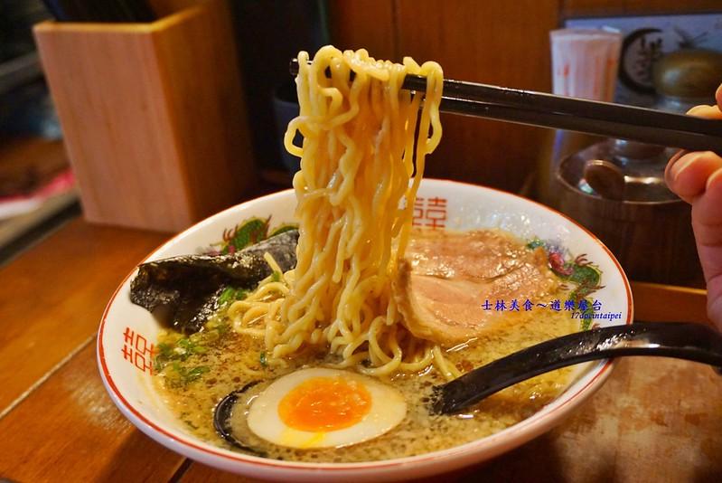 道樂屋台-士林美食-日本人在台灣的手推車拉麵 (17)