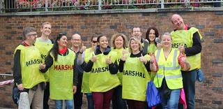 Maidenhead Half Marathon Marshalling