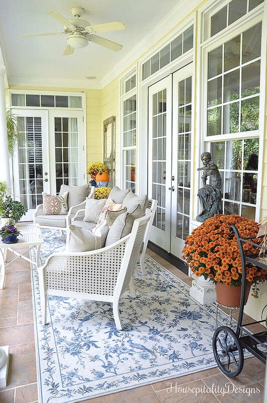 Fall Back Porch - Housepitality Designs