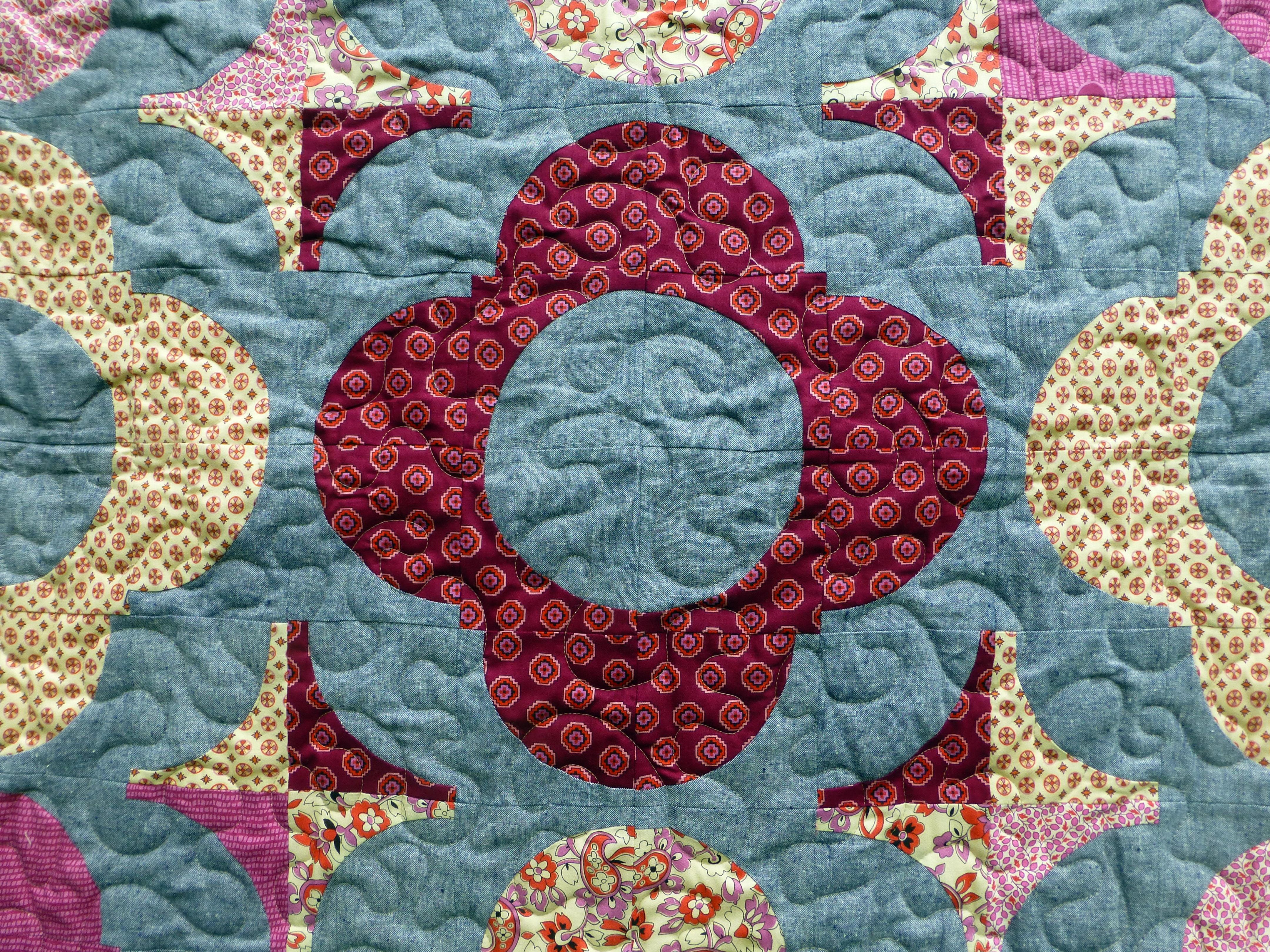 Autumn Garden Quilt (Popular Patchwork Nov16)