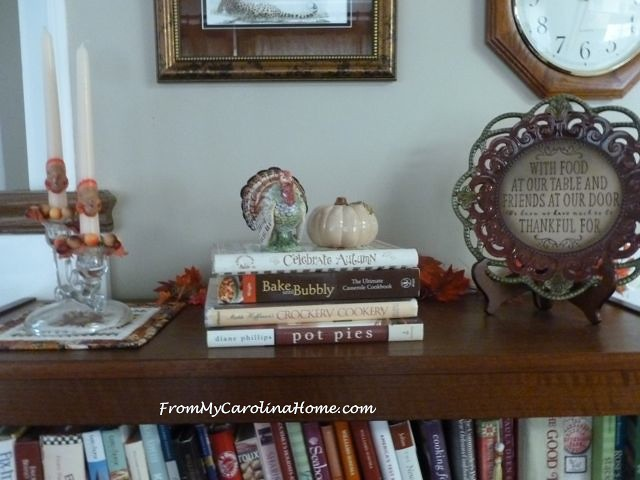 November Decorating at From My Carolina Home