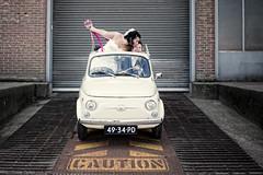 Trouwfoto's Fiat 500 01
