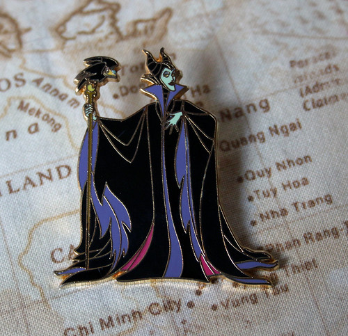 Limited edition Maleficent pin