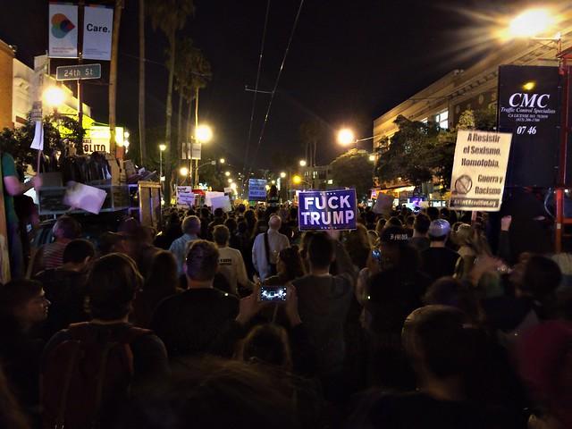 Trump Protest in SF