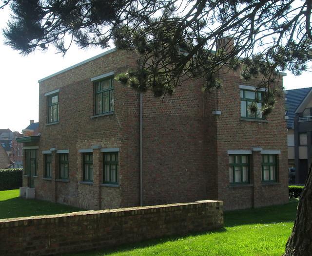 Art Deco Style Building, Zonnebeeke