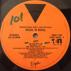 SOUL II SOUL:JOY(LABEL SIDE-B)