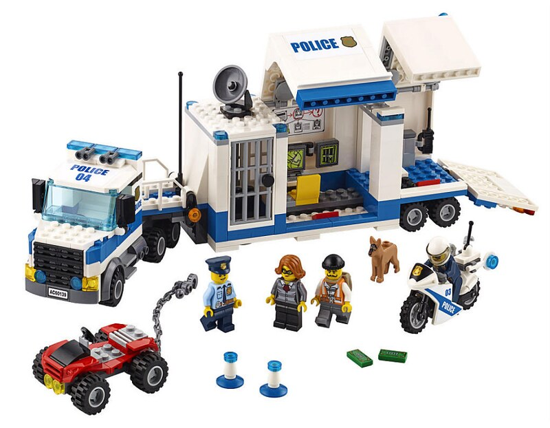 LEGO City 2017 - Mobile Command Center (60139)
