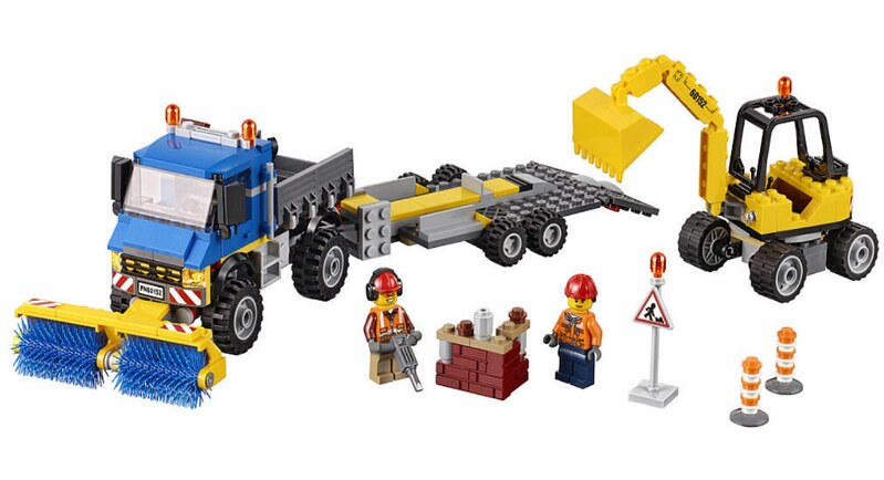 LEGO City 2017 - Sweeper & Excavator (60152)