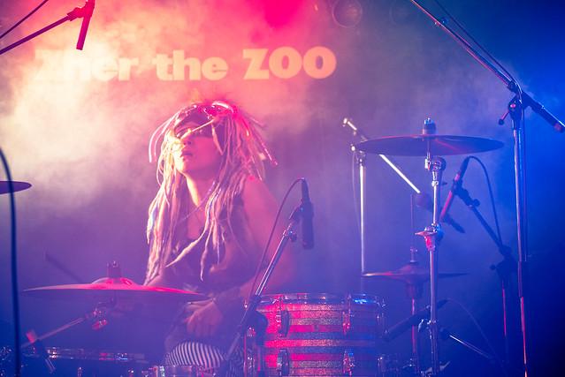 Coal Tar Moon live at Zher the Zoo, Tokyo, 24 Nov 2016 -00006