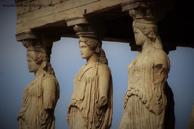 Athen, Koren auf der Akropolis