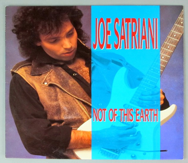 "JOE SATRIANI NOT OF THIS EARTH 12"" LP VINYL"