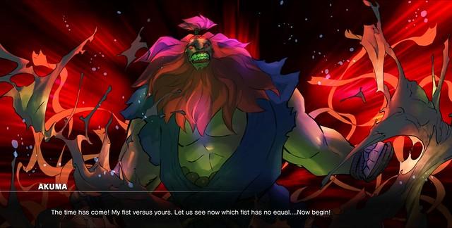 Street Fighter 5 Akuma Story Walkthrough And Combo Gameplay Guide