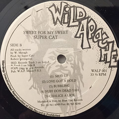 SUPER CAT:SWEETS FOR MY SWEET(LABEL SIDE-B)