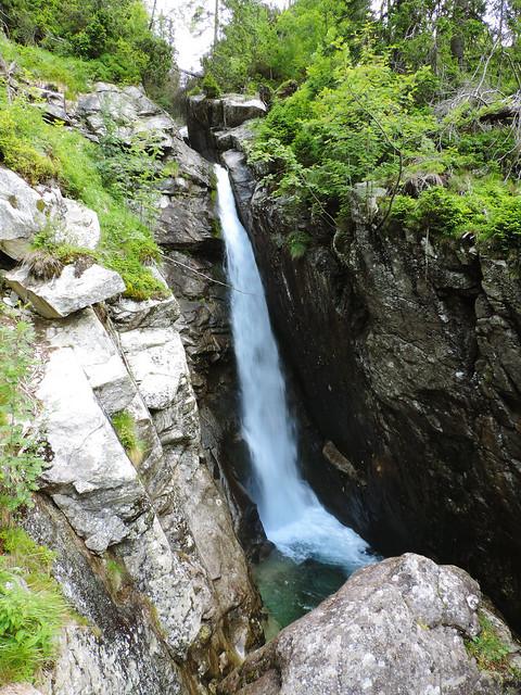 Obrovský vodopád, Small Cold Valley, High Tatras, Slovakia