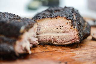 Texas-style Smoked Pork Belly