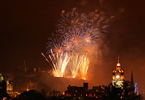 Virgin Money Festival Fireworks Edinburgh