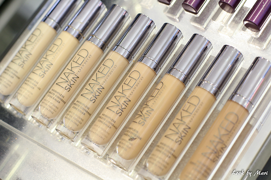 8 Urban Decay Naked skin foundation