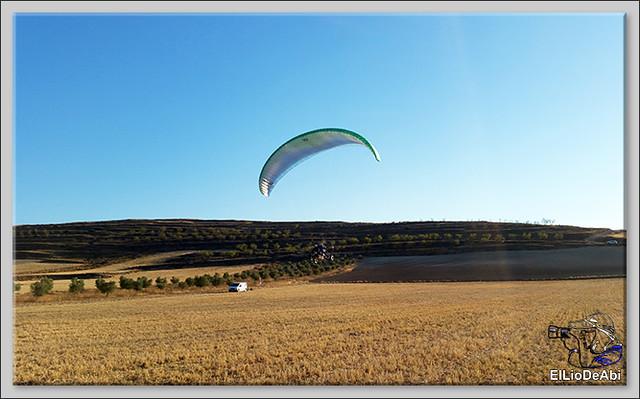 Volar en paratrike en Rioja Baja (3)