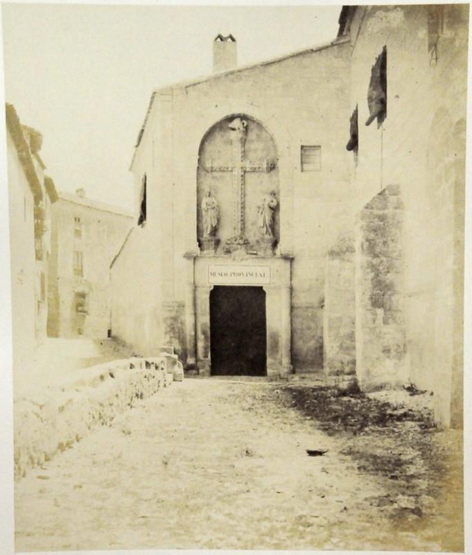 Puerta del Pelícano Toledo en 1852. Fotografía de Felix Alexander Oppenheim © Museum für Islamische Kunst, Staatliche Museen zu Berlin