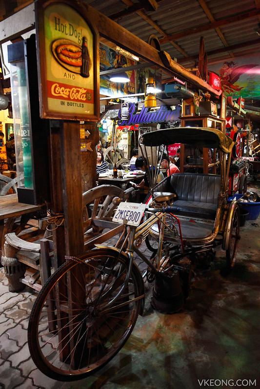 Ja Toi Thai Restaurant Pattaya Trishaw