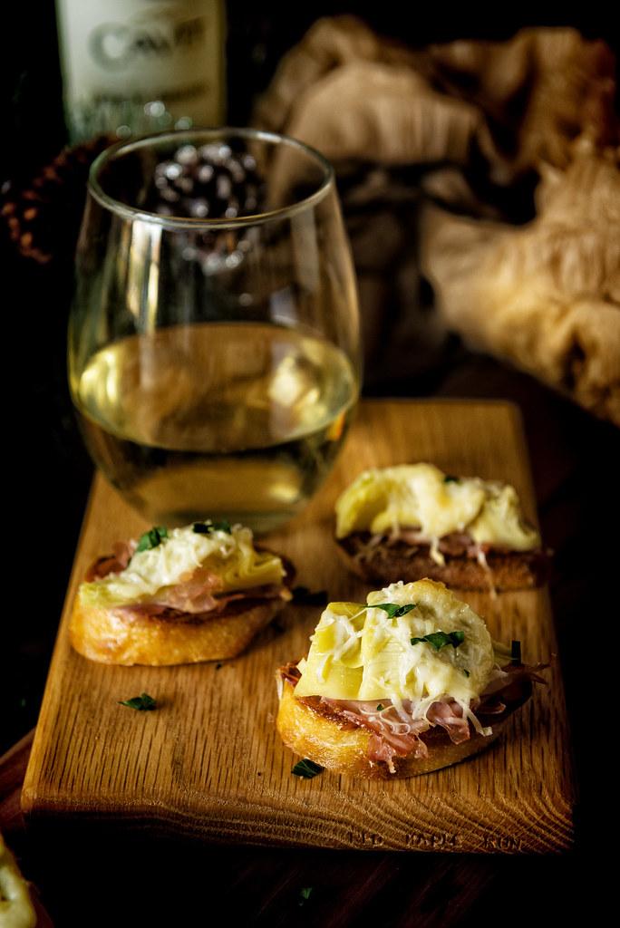 Easy Parmesan Artichoke Bites