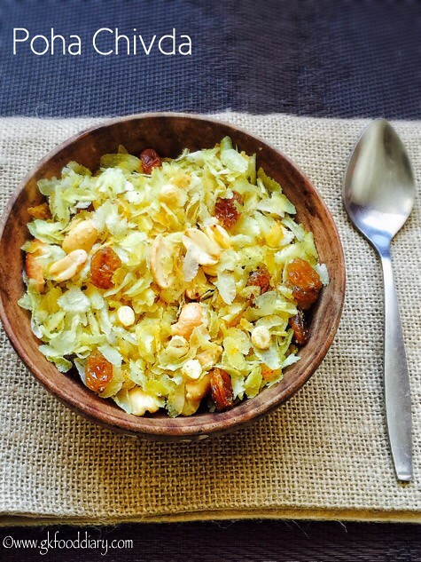 Poha Chivda Recipe for Toddlers and Kids4