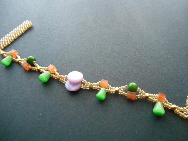 Netted Bracelet TutorialTapestry Cuff i
