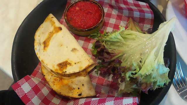Pulled Pork Quesadillas with Salsa Fresca