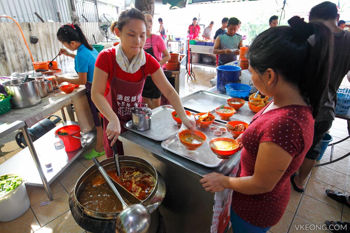 Pasir Pinji Choong Kee Yong Tau Fu Noodles
