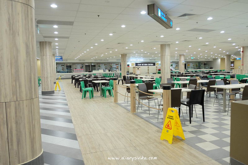 staff canteen changi airport T2 3