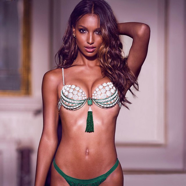"Victoria's Secret Angel Jasmine Tookes will wear the 2016 Bright Night Fantasy Bra on the runway in the ""Bright Night Angel"" section at the 2016 Victoria's Secret Fashion Show, airing Monday, December 5th at 10PM EST on CBS. @jastookes @victoriassecret @c"