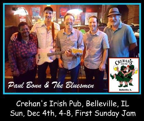 Paul Bonn & The Bluesmen 12-4-16