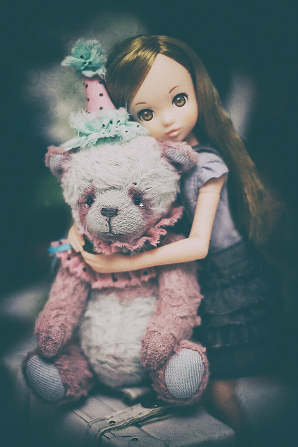 Doll and bear